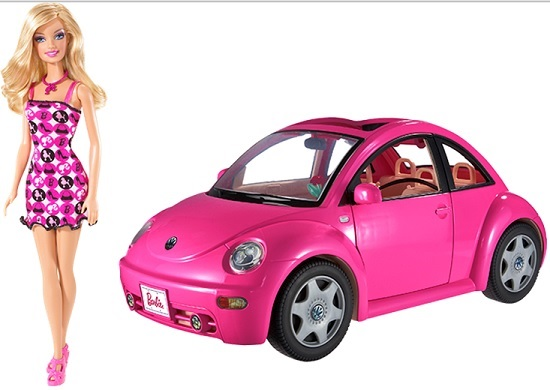 Även Barbie kan behöva en bilverkstad ibland